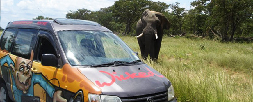 campervan hire Africa
